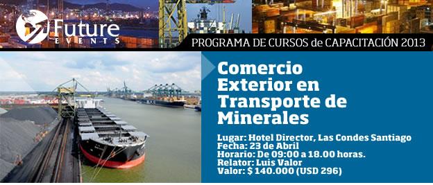 Comercio Exterior en Transporte de Minerales
