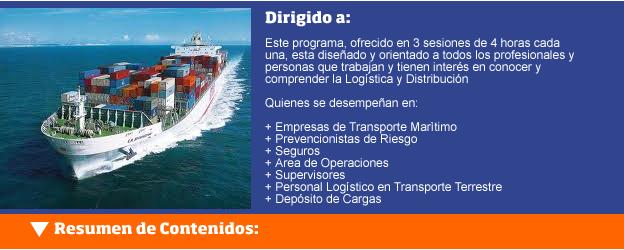 Logística en el Transporte Marítimo