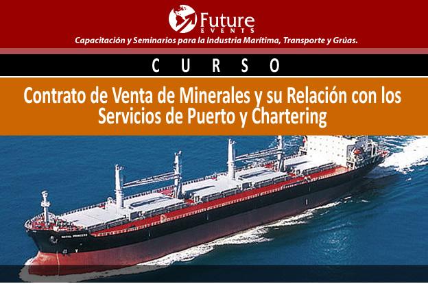 Contrato de venta de minerales y su Relación con los servicios de puerto y Chartering