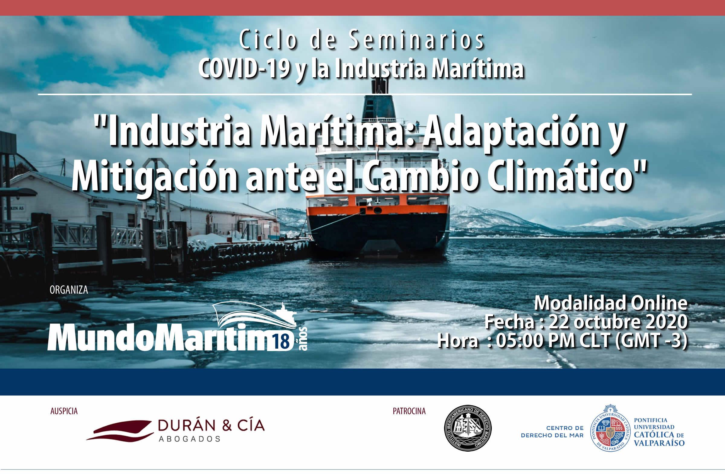 Industria Marítima: Adaptación y Mitigación ante el Cambio Climático